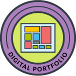 Digital Portfolio Badge
